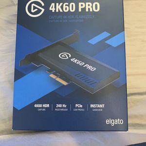 4k60 Pro Elgato for Sale in Santa Ana, CA