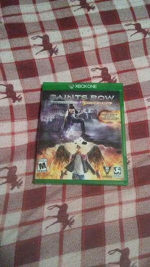 SAINTS ROW SR 4 RE ELECTED and SAINTS ROW GAT OUT of HELL for Sale in Stockton, CA