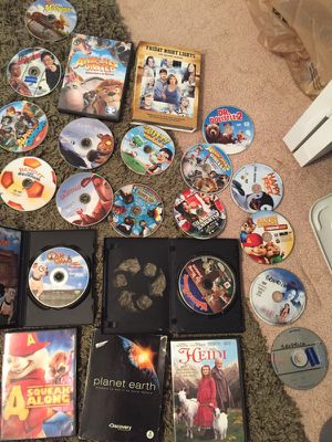 DVDs and portable DVD player case for Sale in Melbourne, FL