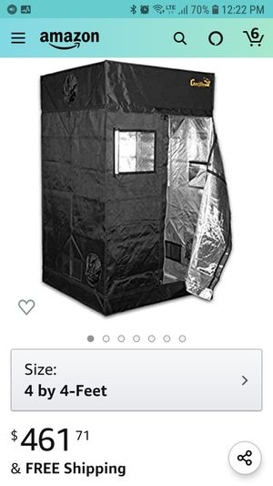 Gorilla tent w/every thing plus chems for Sale in Las Vegas, NV