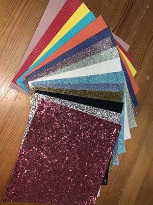 Sintetic leather 15 pcs for Sale in Auburn, WA