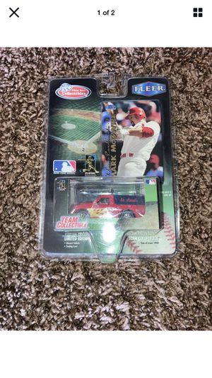 Mark McGwire Collectible Car & Toy Truck, Unopend for Sale in Wichita, KS