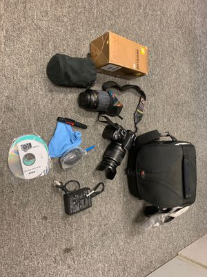Nikon D3100 bundle with extra lense for Sale in Chicago, IL