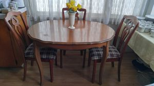 VINTAGE DINING/BISTRO SET-TABLE W/3 CHAIRS-NICE for Sale in Alhambra, CA