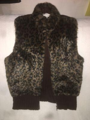 Leopard fur vest for Sale in Laguna Beach, CA