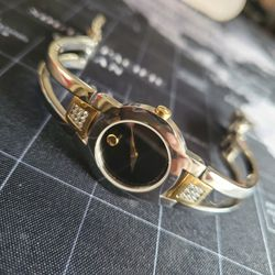 Movado Women Watch Amorosa Collection Gold And Silver Tone With Diamonds 604983 Retails $1195 for Sale in Portland,  OR