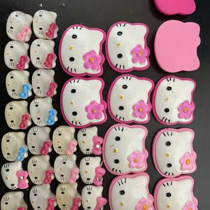 Hello Kitty Assesories For Bow / Clip/ Headband Making for Sale in Chino, CA