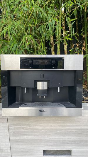 24 Inch Whole Bean/Ground Built-In Coffee System with Navitronic Controls, Automatic Frothing System and Grinder Bypass: Stainless Steel for Sale in Los Angeles, CA
