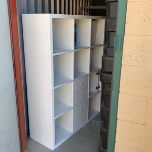 White 12 Cube Storage Shelf for Sale in Golden, CO