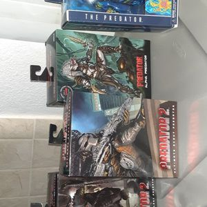 4 Unopened Neca PREDATOR Figures (ALPHA, THERMAL, ARMORED & SCOUT) for Sale in Los Angeles, CA