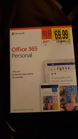 Microsoft Office 365 Personal *BRAND NEW* for Sale in Denver, CO