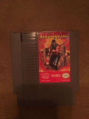 Nintendo nes ninja gaiden for Sale in Visalia, CA