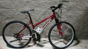 Bicycle Raleigh mountain bike front suspension 26 inch wheels Shimano equipped for Sale in Gig Harbor, WA
