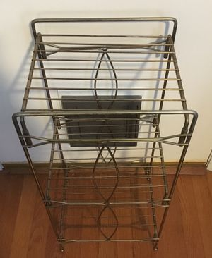 Mid Century Metal Shelf for Sale in Greensboro, NC
