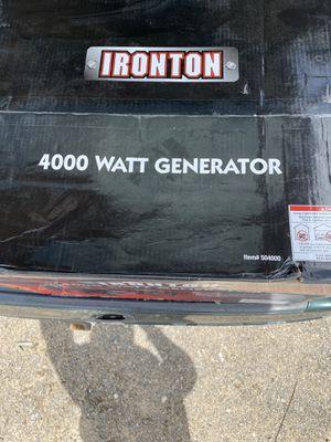 Ironton watt 4000 for Sale in Houston, TX