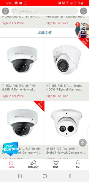 Lindale technical surveillance cameras, Installation for Sale in Houston, TX