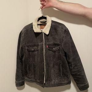 Levi's Ex Boyfriend Trucker Sherpa Jacket for Sale in Seattle, WA