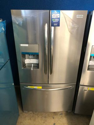 New Frigidaire stainless steel French door refrigerator for Sale in Corona, CA