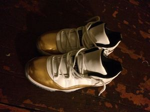 Metallic Gold Air Jordan 11 for Sale in St. Louis, MO
