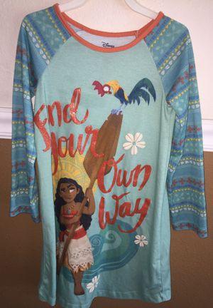 Moana dress pajama size 5/6 for Sale in Fresno, CA