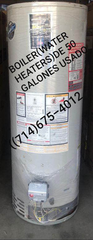 BOILER(WATER HEATERS)DE 50 GALONES USADO DE LA MARCA BRADFORD WHITE!!!!! for Sale in Santa Ana, CA
