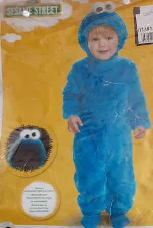 Baby Costume Cookie Monster Sesame street $19 for Sale in Lawndale, CA