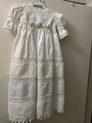 Baptism dress for baby girl for Sale in San Antonio, TX