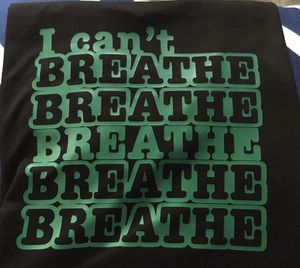 I can't breathe shirt for Sale in Haynesville, LA