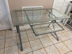 Desk glass top for Sale in Tampa, FL