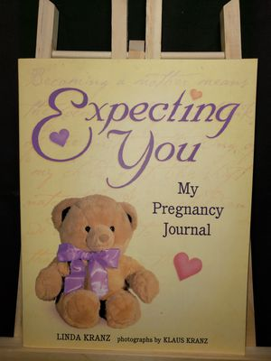 Expecting you my pregnancy journal for Sale in Zanesville, OH