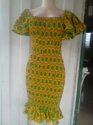 African print stretch dress - size 4 to 6 for Sale in Baltimore, MD