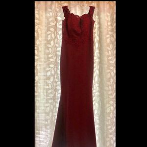 Formal Gown / Prom Dress Size XS- Burgundy for Sale in Houston, TX