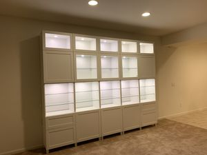 IKEA Display Case w/ Glass Shelves for Sale in Mesa, AZ