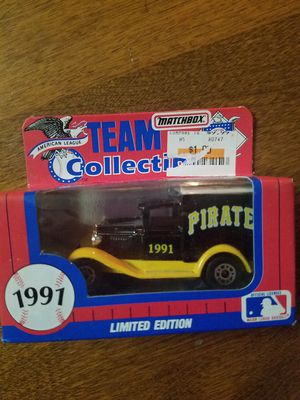 1991 Limited Edition Pirates Matchbox Team Collectible truck for Sale in Newburgh, IN