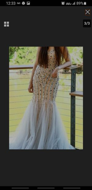 Wedding/ prom sequin mermaid dress for Sale in Washington, DC