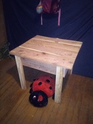 Solid cedar unfinished table. for Sale in Lena, LA