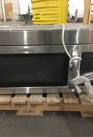 Free kitchen aid microwave for Sale in Seattle, WA