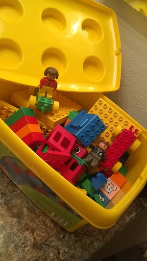 Big container of duplo Legos $12 FIRM for Sale in Phoenix, AZ
