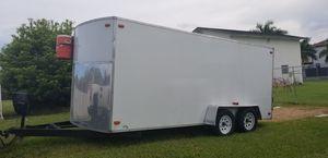 2017 enclosed 7x16 trailer for Sale in Miami, FL