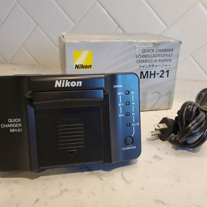 Nikon Quick Charger MH-21 for Sale in Long Beach, CA