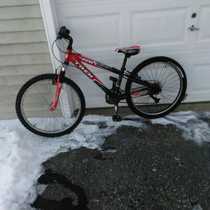 Red Trek MT220 with Alpha Custom Aluminum frame for Sale in Weare, NH