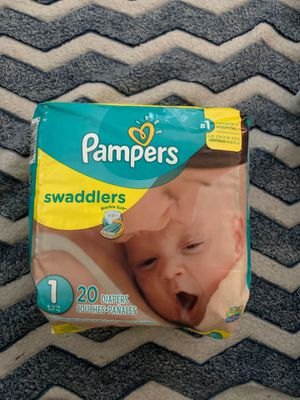 Pampers swaddles size 1 for Sale in Denver, CO