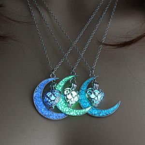 Moon Glowing Necklace Gem, Premium Silver Plated for Sale in Normal, IL