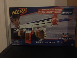 N STRIKE RETALIATOR NERF GUN for Sale for sale  Lawrenceville, GA