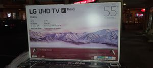 """55"""" LG 4k UHD Smart HDR LED TV for Sale in Escondido, CA"""