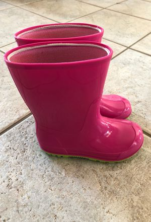 $7 Wonder Nation Toddler Girls' Rain Boots Size 9-10 ☔️ for Sale in La Costa, CA