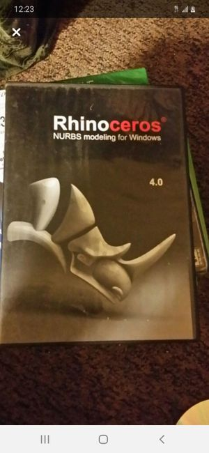 Rhinoceros 3D Software for Sale in Portland, OR