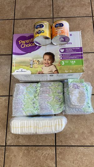Baby diapers & 2 formula milk for Sale in Litchfield Park, AZ