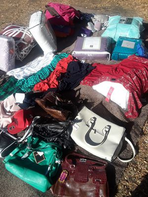 Women Clothes Purses and Bed Comforers for Sale in Pomona, CA