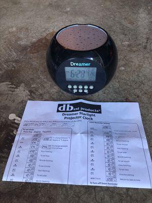 Dreamer Starlight Projector Alarm Clock for Sale in Sammamish, WA